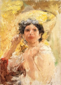 mezza figura by antonio mancini