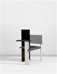 berlin chair by gerrit thomas rietveld