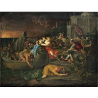 the rape of helen of troy by italian school-ferrara (17)