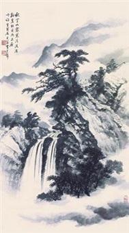秋空山霁寒 by huang junbi