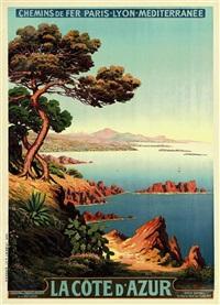 la côte d'azur by adelin charles morel de tanguy