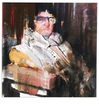 the king by adrian ghenie