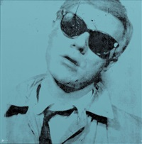 andy warhol turquoise by andy warhol