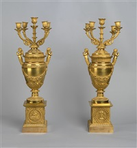 a pair of vase candelabras by pierre philippe thomire