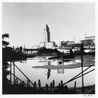 los angeles city hall-4 by julius shulman