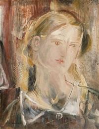 portrait de femme by giorgios (gounaro) gounaropoulos