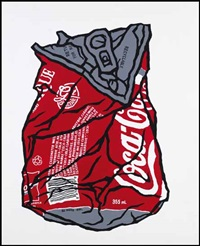 crushed coke can classic by gu xiong