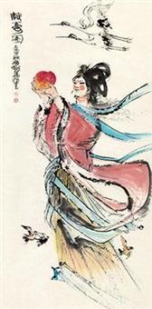 献寿图 by cheng shifa