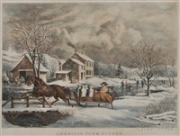 american farm scenes no. 4 by nathaniel currier