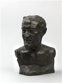 a bust of mephistopheles by mark matveevich antokolsky