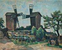 windmills by väinö kamppuri