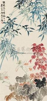 繁花翠竹 by ma wanli
