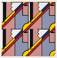 modern print by roy lichtenstein