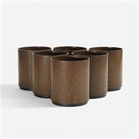 wastepaper baskets (set of 6) by jens risom