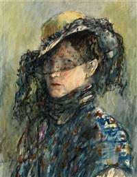 portrait of anastasia tyshler by aleksandr grigor'evich tyshler