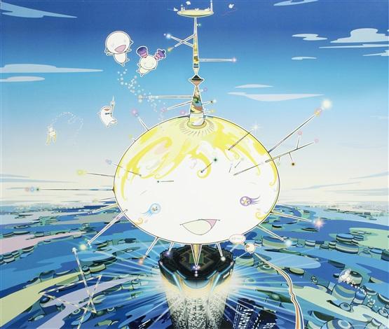 mamu came from the sky by takashi murakami