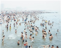 coney water (#2313) by massimo vitali