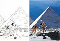papyrus 21, le talisman de la grande pyramide by lucien de gieter