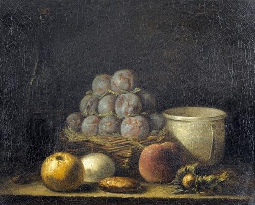 le panier de prune by jean baptiste siméon chardin