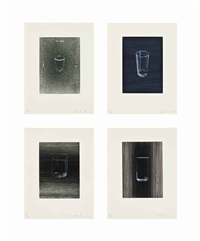 sunliners (set of 7) by ed ruscha
