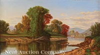 ohio river valley landscape by robert scott duncanson