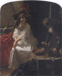 la toilette des morts by edward matthew ward