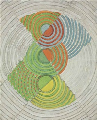 relief rythme by robert delaunay