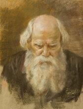 ritratto d'uomo con barba by ermocrate bucchi
