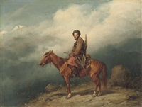 a caucasian rider by konstantin nikolaevich filippov