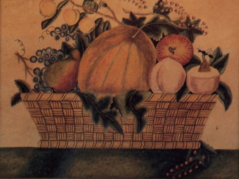 fruit in basket by delilah applegate