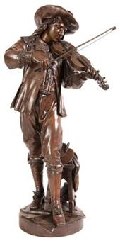 joueur de violon by jean louis gregoire