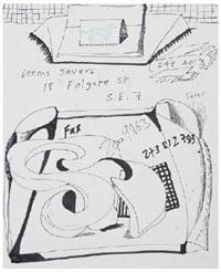 dennis severs fax by david hockney