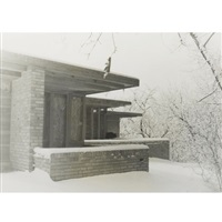 frank lloyd wright's clarence sondern house, kansas city, missouri (2 works) by pedro e. guerrero