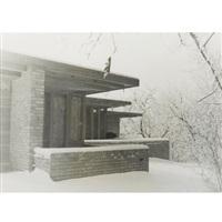 frank lloyd wright's clarence sondern house, kansas city, missouri (2 works) by pedro e. guerrero