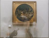 le bain turc (exemplaire de lecture) (from suite photographique du louvre 2002) by jean-baptiste béranger