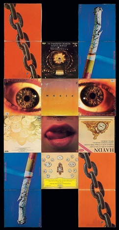 music (from mask) by christian marclay
