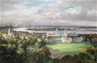 view over greenwich by max hofler