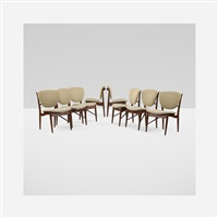 dining chairs (set of 8) by finn juhl