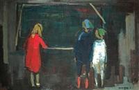 three figures by esther peretz arad
