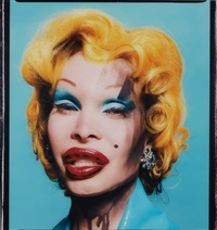 amanda as andy warhol's marilyn by david lachapelle
