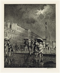 break in the thunderstorm by martin lewis