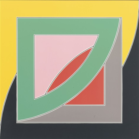 referendum 70 by frank stella