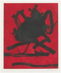 red sea ii by robert motherwell