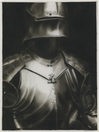 study for german armour by robert longo
