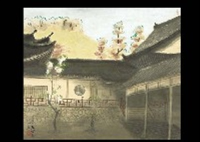 manpukuji temple by sanzo wada