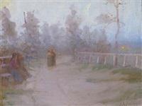 an evening stroll by james peter quinn