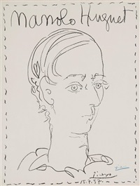 manolo by pablo picasso