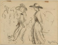 ladies in hats by william samuel horton
