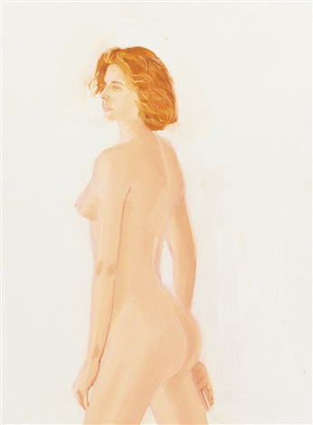study for connie by alex katz
