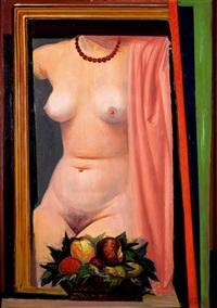 nudo femminile by achille funi